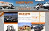 screenshot http://www.cass-auto.com cass'auto, votre casse automobile