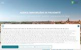 screenshot http://www.castelnaudary-immobilier.com agence immobiliere castelnaudary
