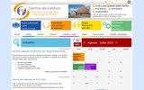 screenshot http://www.cdg02.fr centre de gestion de l'aisne