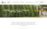 screenshot http://www.cedresengros.com/ cèdres en gros, plantation, taille et entretien de haies de cèdres, coupe de gazon montréal rive-sud