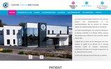 screenshot http://www.centrevisionbretagne.com ophtalmologue vannes centre vision bretagne