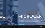 screenshot http://www.cerafast.fr/ la micro céramique et le prototypage céramique