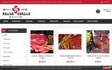screenshot http://www.chailla.com chailla biarritz - spécialiste des produits basques