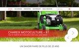 screenshot http://www.chareix-paysagiste-motoculture.com Chareix Motoculture