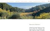 screenshot http://www.chateau-dalmeran.com château dalmeran - aoc baux de provence