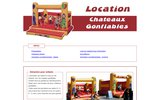 screenshot http://www.chateau-gonflable.net location château gonflable