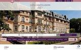 screenshot http://www.chateaudemontvillargenne.com/ Château de Montvillargenne