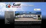 screenshot http://www.chauffage-cuenot.fr chauffage plomberie
