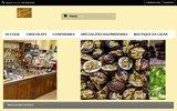 screenshot http://www.chocolat-grenoble.fr chocolaterie norbert meunier