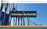 screenshot http://www.christian-elagage.fr christian elagage