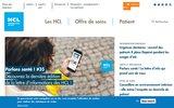 screenshot http://www.chu-lyon.fr hospices civils de lyon - etablissement public