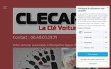 screenshot http://www.clecar.fr CLECAR