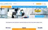 screenshot http://www.clemsys.com écran tactile