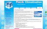 screenshot http://www.climatisation-paris.com climatisation paris