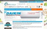 screenshot http://www.climboutique.com vente en ligne de climatiseurs a prix discount