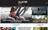 screenshot http://www.cluster21.com cluster21 la communauté du numérique et du digital