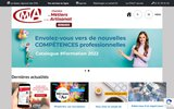 screenshot http://www.cma27.fr/ création d'entreprise