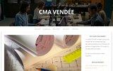 screenshot http://www.cmavendee.fr Chambre de Métiers et de l'Artisanat de la Vendée