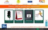 screenshot http://www.code-a-domicile.com/ a.e.a.d.c auto-école