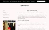 screenshot http://www.colonie-vacances-savoies.fr/ les alouettes - colonie de vacances haute savoie