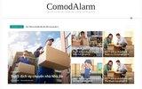 screenshot http://www.comodalarm.com système d'alarme maison filaire ou sans fil