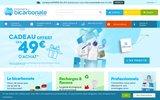 screenshot http://www.compagnie-bicarbonate.com/ bicarbonate de potassium