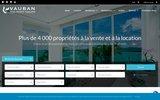 screenshot http://www.companyvauban.com/fr agence immobiliere vauban thailande