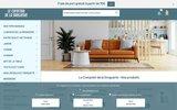 screenshot http://www.comptoir-droguerie.fr le comptoir de la droguerie