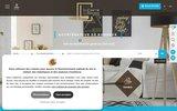 screenshot http://www.comptoirimmobilier.fr immobilier hérault