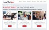 screenshot http://www.concertdescimes.com concert des cimes