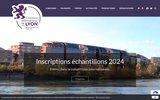 screenshot http://www.concourslyon.com/ concours des vins de lyon