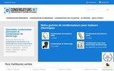 screenshot http://www.condensateurs.net tous les condensateurs pour moteurs, pompes, ventilateurs, machines à laver etc...