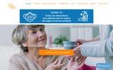 screenshot http://www.confadom.com/ services, aide ménagère à domicile et auxiliaire de vie pour personnes âgées, 93, 95, 92 et 75