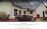 screenshot http://www.constructeurbois-afe-49.com/ menuiserie afe constructeur bois