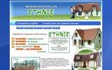 screenshot http://www.constructeurdemaison-yonne.fr constructeur yonne