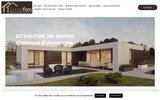 screenshot http://www.construction-sovalfon.fr Construction Sovalfon