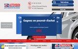 screenshot http://www.controle-technique-palaiseau.fr/ Autovision de Palaiseau 91
