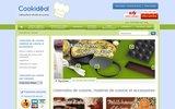 screenshot http://www.cookideal.com ustensiles de cuisine cookidéal