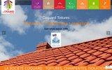screenshot http://www.coquard-toiture.com traitement du bois des charpentes, nettoyage et entretien de la toiture