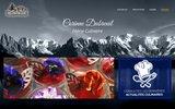 screenshot http://www.corinne-dubreuil.fr corinne dubreuil - votre cuisinière à votre écoute