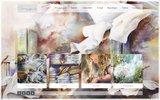 screenshot http://www.corinne-izquierdo.com artiste aquarelliste narbonne -  aix en provence