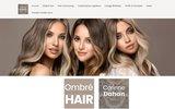 screenshot http://www.corinnedahan.com/ corinne dahan coiffeur à paris