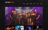 screenshot http://www.cotton-teege.net les cotton teege - orchestre attractif de variété