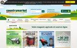 screenshot http://www.countrymarket.fr/ La vente de pi�ces agricoles et l�outillage en ligne