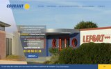screenshot http://www.courant-constructeur.com Constructions modulaires