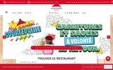 screenshot http://www.courtepaille.com/ grill courtepaille, le restaurant de toutes les grillades.