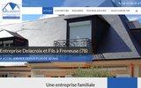 screenshot http://www.couverture-delacroix-78.com/ travaux de couverture delacroix père  fils