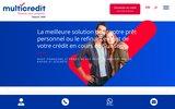 screenshot http://www.credit-frontalier.ch Crédits privés pour frontaliers France-Suisse