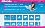 screenshot http://www.credit-pret-en-ligne.fr credit en ligne, demande de prêt et crédit