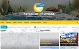 screenshot http://www.croisieres-saonoises.fr croisière sur la saône